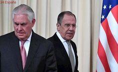"""Rex Tillerson: """"Las relaciones entre Estados Unidos y Rusia están en un nivel bajo de confianza"""""""