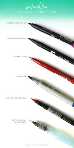 Brush-Pens-For-Beginners-via-Happy-Hands-Project