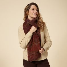 The Royal Robbins Sophia Scarf is a great fashion, knit scarf for the cold weather months. This long knit scarf is warm and cozy, making it perfect for wearing on a hike, running errands around town or on your next travel adventure. Outdoor Fashion, Warm And Cozy, Fall Winter, Winter Trends, Fall 2015, How To Wear, Fashion Trends, Color, Collection