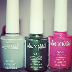 Every girl has painted their nails and toes with this particular polish. Wet and wild products. I loved the green!