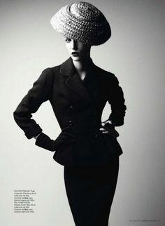 Dior Courture Winter 1954