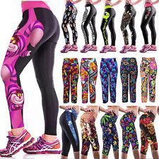 Ladies 3D Yoga pants!