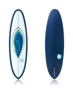 V-Bowl 6'10 Blue + Sea Foam - Ryan Lovelace