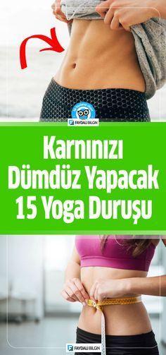 Karnınızı Dümdüz Yapacak 15 Yoga Hareketi #kiloverme #zayiflama #yoga #saglik #hareket #egzersiz