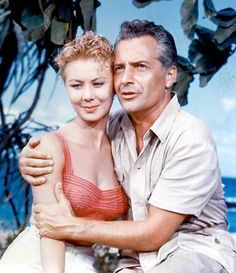 Mitzi Gaynor and Rosanno Brazzi in South Pacific