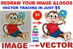 I will do vector tracing, convert image or logo to vector in 1 hour #ad , #AFFILIATE, #convert#tracing#vector#hour Vector Design, Vector Art, Logo Design, Logo Inspiration, Convert Image To Vector, Vector Converter, Branding, Marketing, Your Image