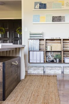 The Jenna Sue Design Co. Studio Reveal—full of DIY projects for an organized workspace!