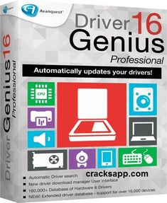 Driver Genius Pro 16 Crack With License Code Full Version Free. It has the ability to maintain the Driver management & hardware diagnostics. Find any driver