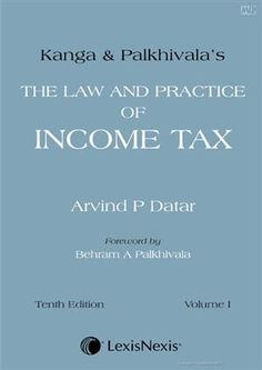 Latest Edition Kanga & Palkhivala The Law and Practice of Income Tax 10 buy online affordable price http://www.meripustak.com/Kanga-and-Palkhivala-The-Law-and-Practice-of-Income-Tax-10-Edition/Direct-Tax/Books/pid-100310