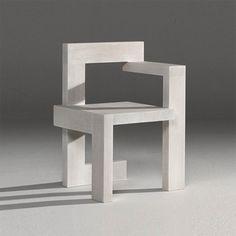 Gerrit Rietveld Steltman Chair, 1963.