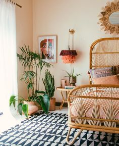 Looking for home décor inspiration? Ahead, MyDomaine editors weigh in on the 13 best interior design Bamboo Furniture, Bed Furniture, Decor Room, Bedroom Decor, Boho Style Decor, Coastal Bedrooms, Pretty Bedroom, Best Interior Design, My New Room