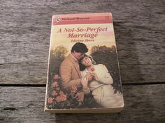 Vintage Harlequin Romance Paperback Book #2946 A Not-So-Perfect Marriage Edwina Shore 1988 1st Ed Vintage Romance Books Vintage Love Stories