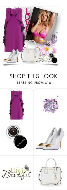 """""""Bez naslova #66"""" by miki-383 ❤ liked on Polyvore featuring Boutique Moschino, The Gypsy Shrine, Bobbi Brown Cosmetics, Versace and Brewster Home Fashions"""