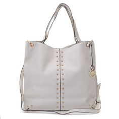 Females of all ages whether they are young, married or teenager; everyone needs shoulder bags to carry their luggage. Why you don't search for a beautiful bag online? You will find many bags but Stud White Shoulder Bags introduced by #MichaelKors is certainly unique.