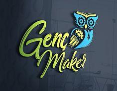 Genç Maker Robotik Logo Tasarımı