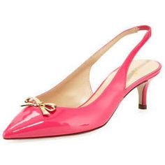 pink bow shoes -want