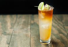 Ginger shrub dark and stormy cocktail recipe Use real butter - Drink Types Non Alcoholic Drinks, Cocktail Drinks, Cocktail Recipes, Dark & Stormy, Longest Recipe, Most Popular Drinks, Cocktail Making, Classic Cocktails, Recipe Using