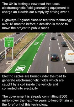 Car Charging Roads Will Be Here Soon – 3 Pics