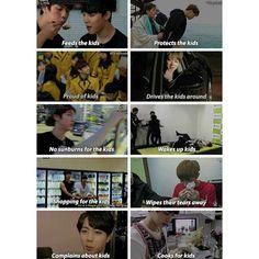 Eomma Jin--- also reasons he is my bias