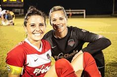 #Ali Krieger & #Ashlyn Harris #Washington Spirit #team #NWSL
