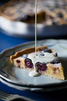 Cherry & Amaretto Tart