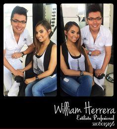 #FelizViernes ¡El maquillaje realza belleza, perfila nariz, pómulos y le da vida y marcación a tu mirada! Ven y asesórate conmigo y le damos el mejor estilo a tu maquillaje 3108019196 ¡Abracito de William Herrera!