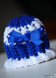 Preemie/Micro-Preemie Hat $6  etsy.com/shop/dragonflyzoe