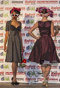 Desfile de Moda Pin Up de www.idfshop.es con tocados y complementos Paco Valdivia de http://www.floristeriaazabache.com/ y fotografías realizadas por Eduardo Alias de http://www.eafoto.es/