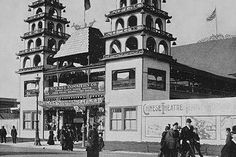 eCUIP : The Digital Library : Social Studies : The Columbian Exposition Coney Island Amusement Park, World's Columbian Exposition, Chicago City, White City, World's Fair, Back In Time, Lake Michigan, Historical Photos, Time Travel