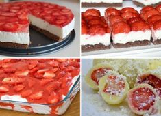 Kinder mliečny rez – rýchly a výborný koláčik bez múky! Clean Eating Recipes, Raw Food Recipes, Sweet Recipes, Dessert Recipes, Cooking Recipes, Czech Recipes, Russian Recipes, Party Food Platters, Meat Appetizers