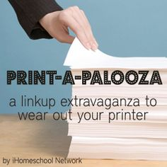 Welcome to iHomeschool Network's Print-a-Palooza, an extravaganza that will no doubt require you to stock up on printer ink! - See more at: http://www.ihomeschoolnetwork.com/print-a-palooza-a-free-printable-linkup/#sthash.1gyDOxko.dpuf