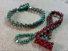 Rickety Bracelet #Seed #Bead #Tutorials