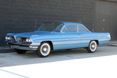 "1961 Pontiac Catalina ""Bubble Top Coupe"" - Special order 389 c.i.d. tri-power engine with factory 4-speed - low miles with original paint and glass."