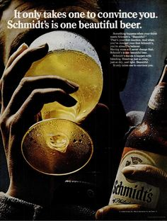Schmidt's beer ad, LIFE, August 16, 1968