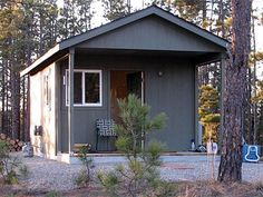 Tuff Shed Tiny Houses. The sizes range from 8′x14′ to 16′x24′ and the prices from $4,100 to $8,739