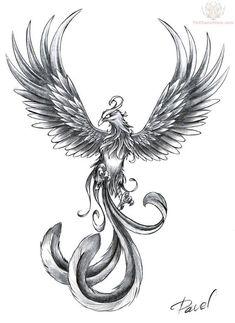 Phoenix Tattoo Samples