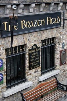 The Brazen Head Pub, Dublin. Oldest pub in the city!