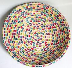 cool mosaic bowl
