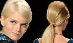60s Hairstyles for Long Hair | Hairstyle how to: the '60s ponytail .
