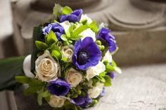Bouquet  anemoni e rose by Fumagalli Milano
