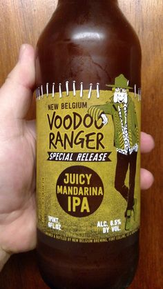 New Belgium Brewing Company Voodoo Rangers Juicy Mandarina IPA
