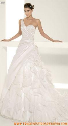 6227  Vestido de Novia  White One