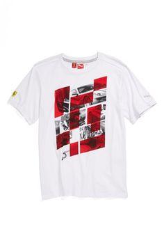 PUMA+'Ferrari'+Graphic+T-Shirt+(Big+Boys)+available+at+#Nordstrom