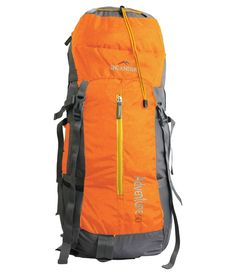 Multi compartments & pockets, stylish rucksack for adventure & hiking, single comfortable handle with two padded and adjustable shoulder straps, light and durable material, zip clousure Similar Items