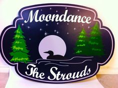 Moondance Cottage Sign