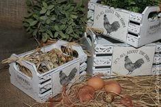 Ящички `Птичья ферма`. Ящички для хранения…