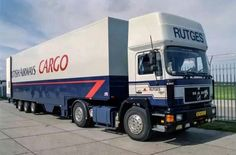 British Airways Cargo MAN F90, operated by Rutges Cargo B.V