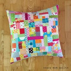 crazy mom quilts: throw pillow mania