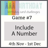 Craftomania: AAA Birthday Challenge #7 - Include a Number My Son Birthday, Birthday Cards, Challenge Games, Very Clever, Game 7, Birthday Design, Fun Challenges, Shaker Cards, You Are Invited