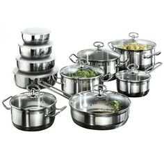 NICE Karcher Jasmin Cookware Set with 4 Bowls
